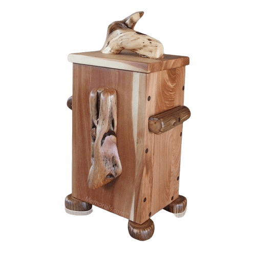 Juniper Natural Wood Urn