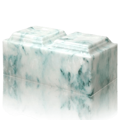 Teal Onyx Companion Urn