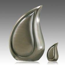 Teardrop Pewter Cremation Urns