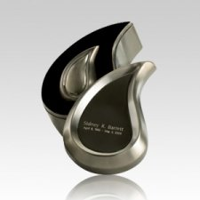 Teardrop Pewter Box Cremation Urn