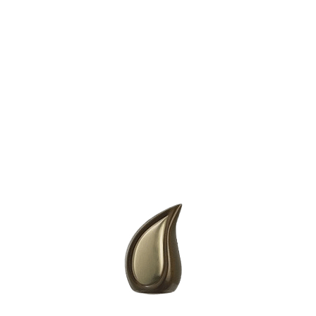 Teardrop Coffee Mini Cremation Urn