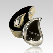 Teardrop Gold Box Cremation Urn