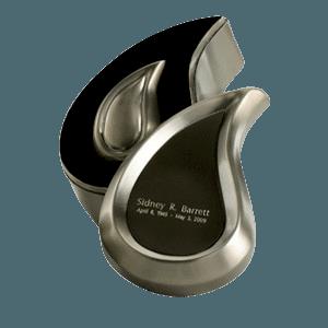 Teardrop Pewter Keepsake Cremation Urn