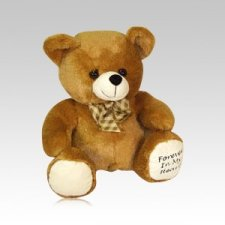 Brown Teddy Bear Urn