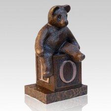 Teddy Bear Infant Cremation Urn