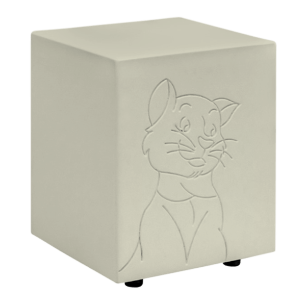 Romeo Tan Cat Urn