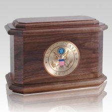 Patriot Walnut Wood Cremation Urns