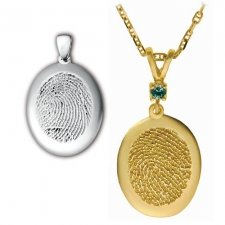 Large Casing Finger Print Keepsakes