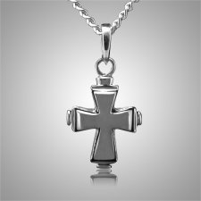 Tiered Cross Keepsake Pendant