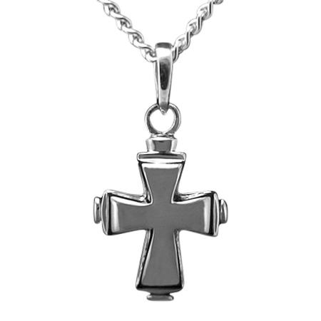 Tiered Cross Keepsake Pendant