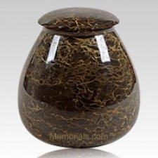 Gypsy Marble Cremation Urn