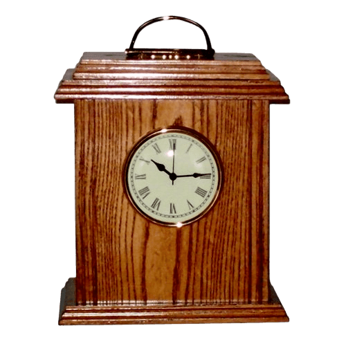 Timeless Oak Wood Cremation Urn