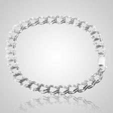 Double Link Charm Bracelet Keepsake Jewelry