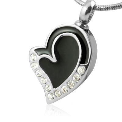 Together Heart Cremation Jewelry