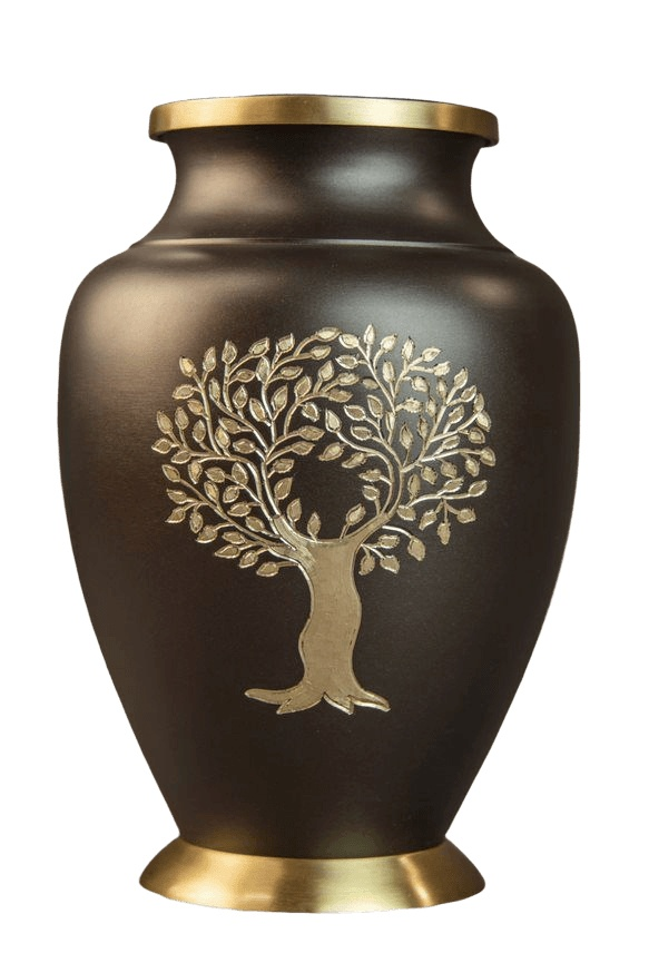 Tree Root Cremation Urn