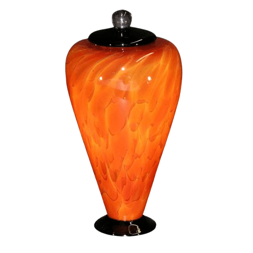 Unique Lava Art Urn