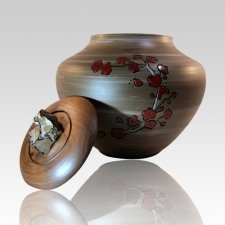 Cang Flowers Cremation Urn