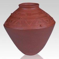 Nigerian Vessel Cremation Urn
