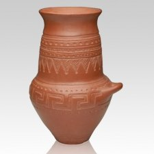 Carved Villanovan Cremation Urn