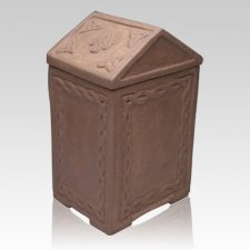 Celtic Crypt Cremation Urn
