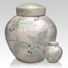 Blackberry Raku Cremation Urns