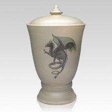 Gothic Dragon Companion Cremation Urn