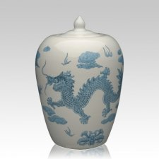 Chinese Dragon Cremation Urn