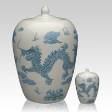 Chinese Dragon Cremation Urns