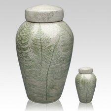 Fern Raku Cremation Urns