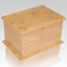 Bamboo Eco Cremation Urn