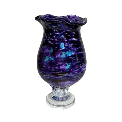 Purple Diochroic Cremation Urn