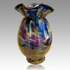 Sun Ray Glass Cremation Urns
