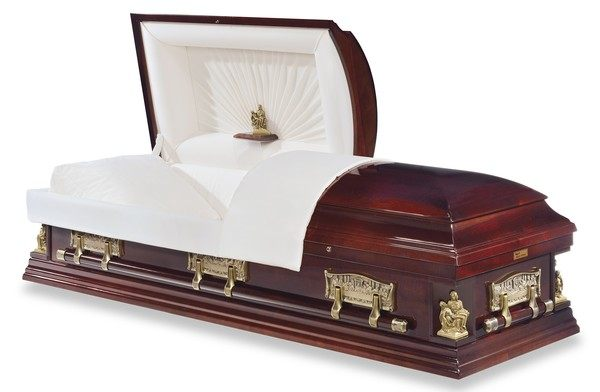Vinci Maple Wood Casket