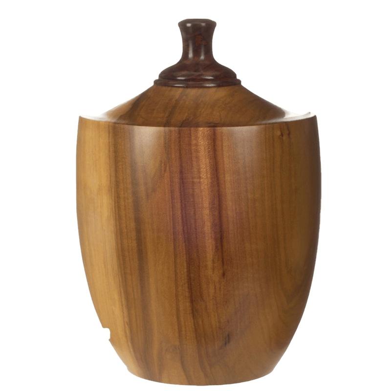 Viti Wood Cremation Urn