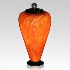 Volcano Glass Cremation Urn