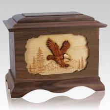 Eagle Wood Cremation Urns