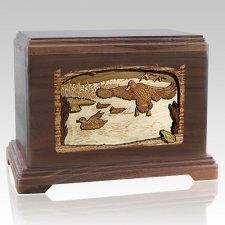 Marshland Melody Walnut Hampton Cremation Urn