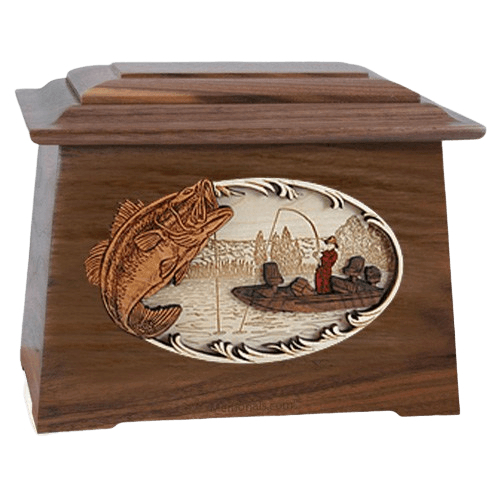 Catch of the Day Walnut Aristocrat Cremation Urn