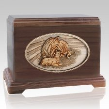 Daddys Love Walnut Hampton Cremation Urn