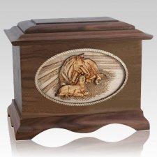 Daddys Love Wood Cremation Urns