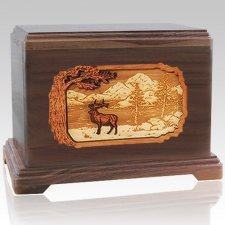 Elk Cremation Urns For Two