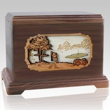 Golf Cremation Urns For Two