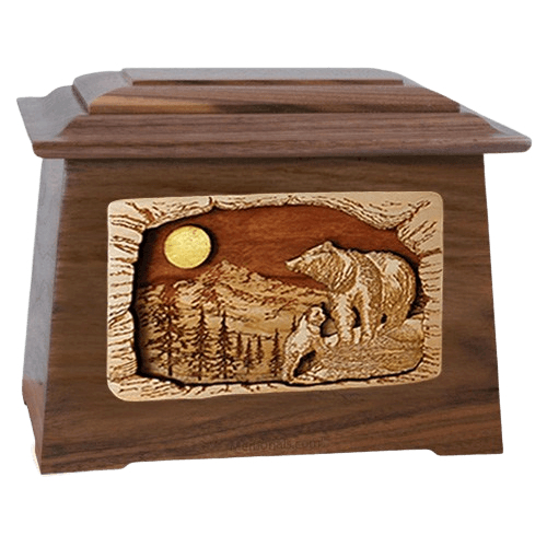 Country Haven Walnut Aristocrat Cremation Urn