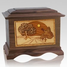 Turkey Walnut Cremation Urn