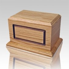 Waterbury Oak Wood Cremation Urn