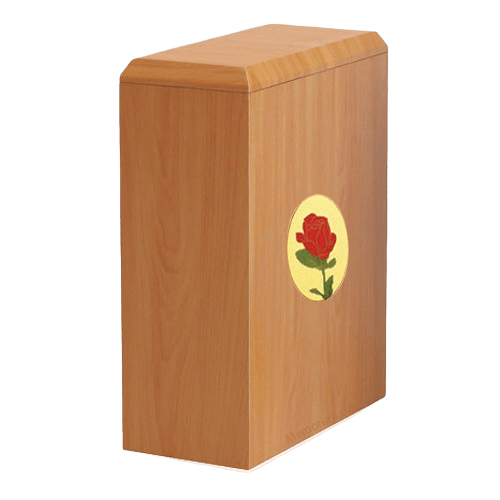 British Rose Cremation Urn