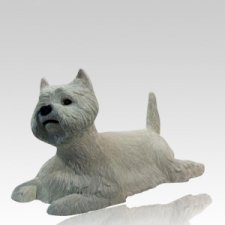 Westie Dog Urn