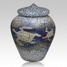 Turtle Art Cremation Urn