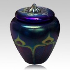 Peacock Art Cremation Urns