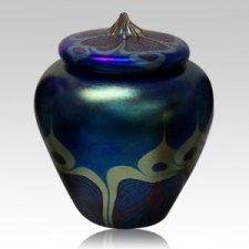 Peacock Art Cremation Urn